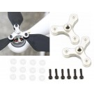 Singahobby 3-Blade Foldable Propeller CCW Holder - Silver