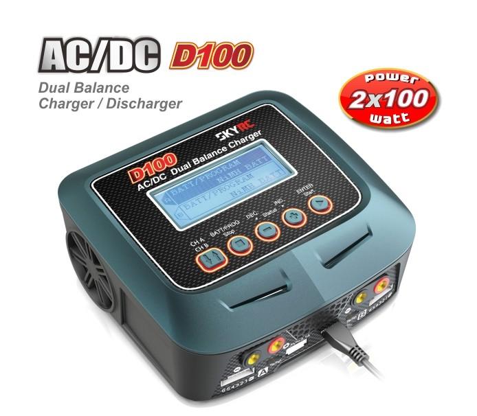 Skyrc D100 AC/DC Dual Output Charger