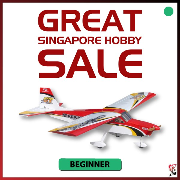 AEROWORKS GT-Trainer 20-30CC (Lowest actual shipping cost would be advised separately)