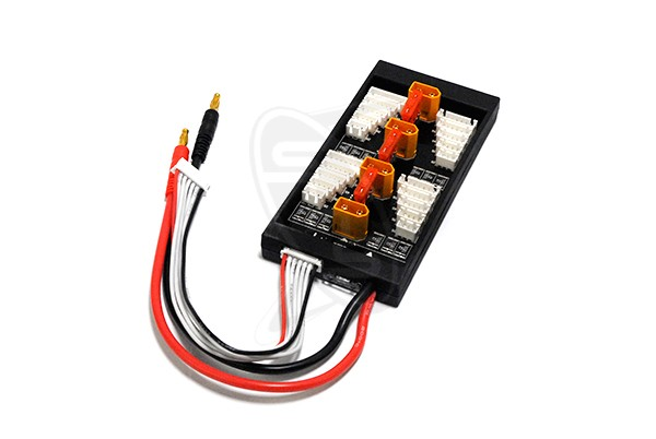 SINGAHOBBY Parallel Charge Board for 4 Packs XH/XT60