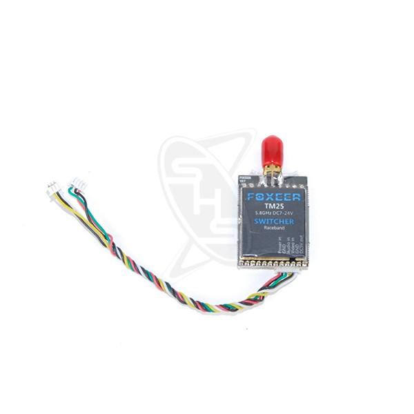 SIGLO Foxeer TM25 5.8G 40CH 25/200/600mW Adjustable Video Transmitter Switcher