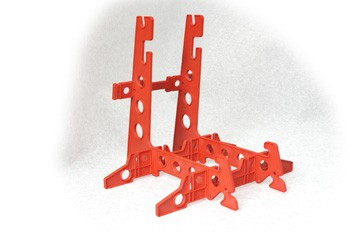 K&S 2791 Maintenance Stand for Helicopter (Orange)