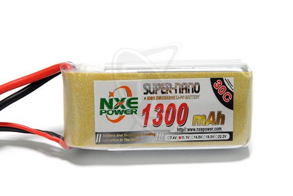 NXE 3-Cells 1300mAh 30C LiPo XT60