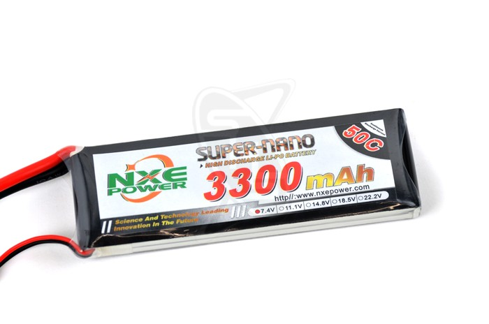NXE 2-Cells 3300mAh 50C LiPo-XT60