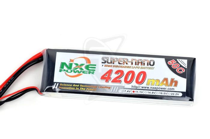 NXE 3-Cells 4200mAh 50C LiPo-XT60