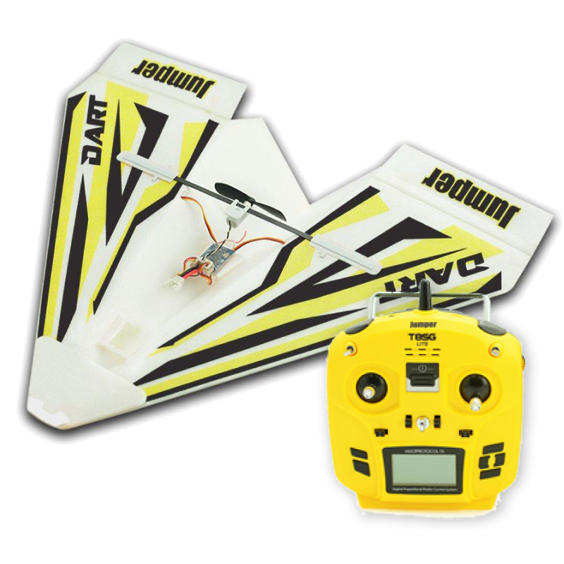"SINGAHOBBY ARF RC ""Paper"" Plane with T8SG Lite (Mode 1) BUNDLE"