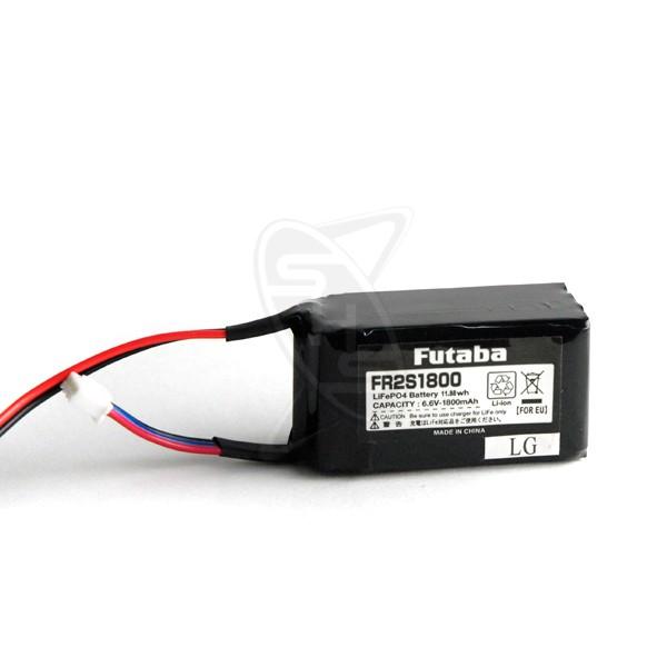 FUTABA FR2S1800 Rx Li-Fe Battery (Squarish)