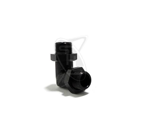 SAITO 125A-163 Muffler Right Angle Manifold M13/FG21