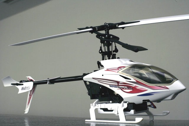Hirobo 0302-924 SRB Quark SG Electric Helicopter with Transmitter (40 MHz)
