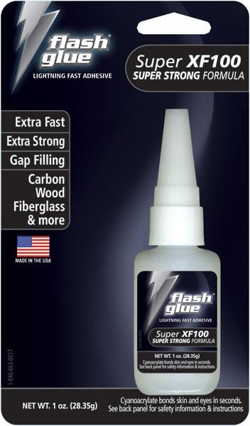 Flash Glue Super XF100 Super Strong Formula (1 oz)