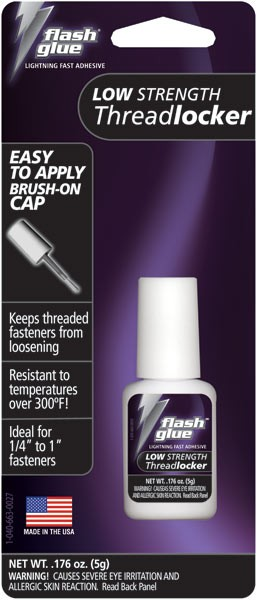 Flash Glue Purple Low Strength Threadlocker (5g)