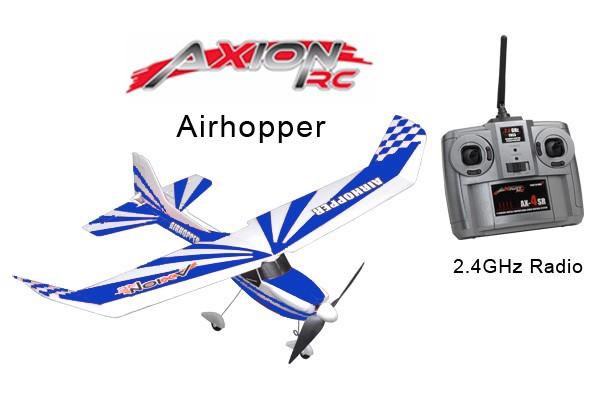 AxionRC Airhopper RTF with 2.4GHz 4-Channel Radio (Blue)