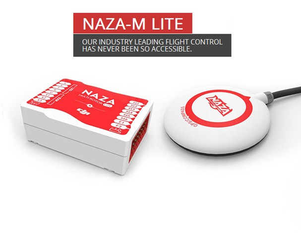 DJI Naza-M Lite with GPS Autopilot System for Multi-Rotor