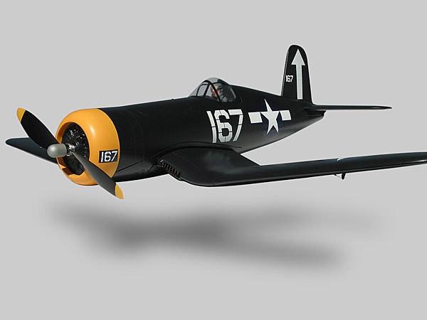 Alfa Model F4U-1 Corsair ARF (Black)