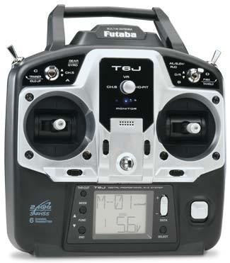 Futaba 6JG 6-channel 2.4GHz Radio System with R2006GS Receiver