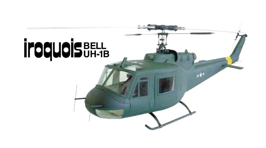 Hirobo 0412-942 30 Scale Iroquois UH-1B Vietnam