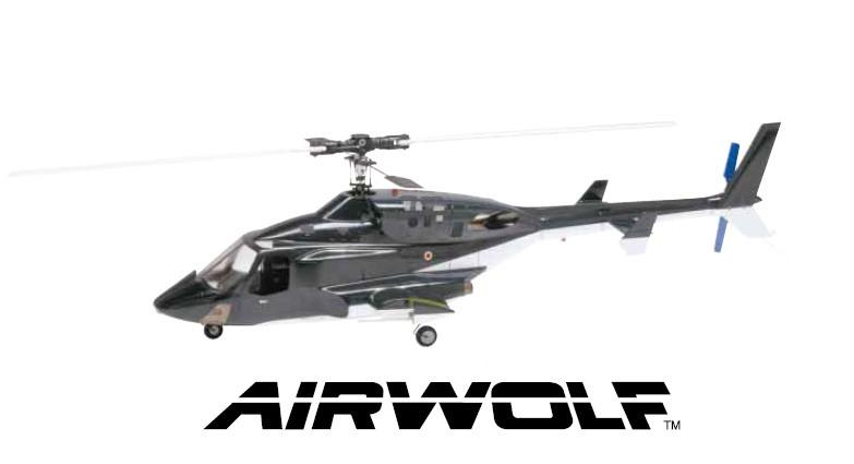 Hirobo 0414-912 60 Scale Airwolf Body