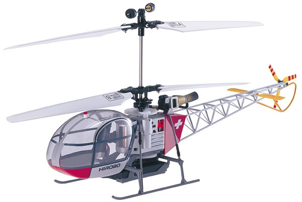 Hirobo 0301-908 XRB-SR Lama Electric Helicopter Silver (40 MHz)