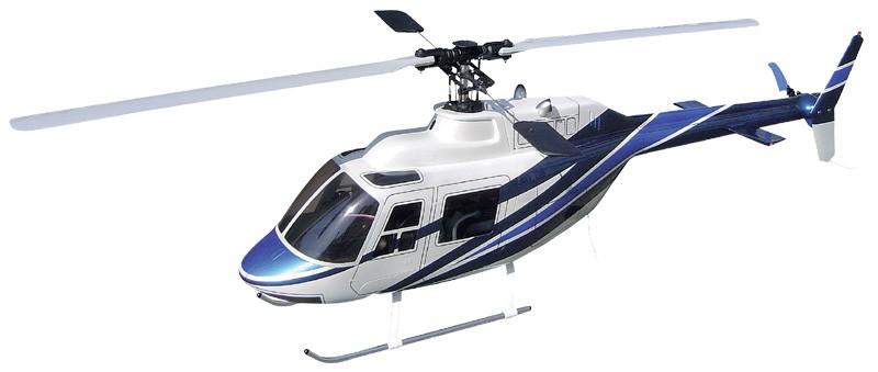Hirobo 0403-938 50 Scale Jet Ranger Pearl White Body