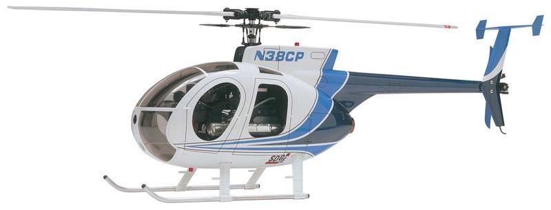 Hirobo 0403-939 50 Hughes 500D Fuselage (White)