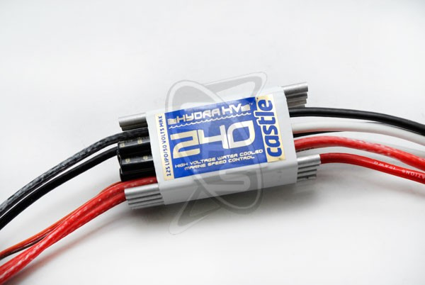 Castle Creations HYDRA HV-240 High Voltage Water Cooled ESC