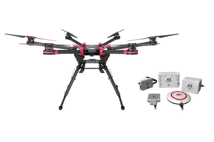 DJI Spreading wings S900 with A2