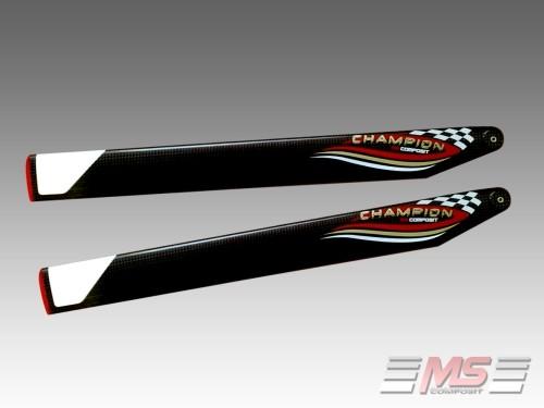 MS Composit CFC Main Blades 62cm/12/4-Champion