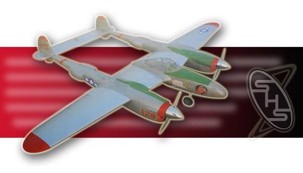 ESM P-38J Lightning 46(Twin engine)