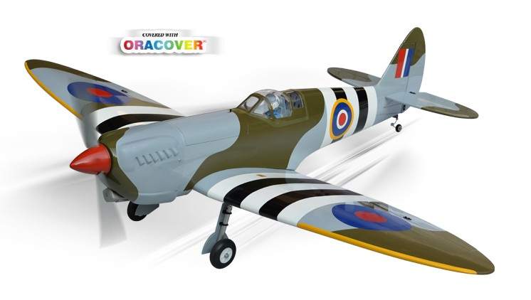 PHOENIX MODEL Spitfire GP/EP Size .91/15cc SCALE 1:7 ¼ ARF