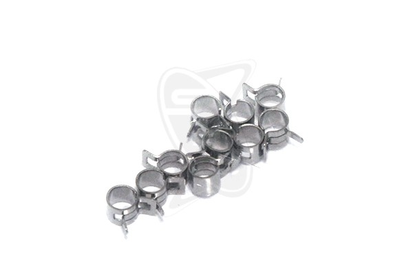 PROSTAR 4.8mm Fuel Tubing Clamp - 10pcs