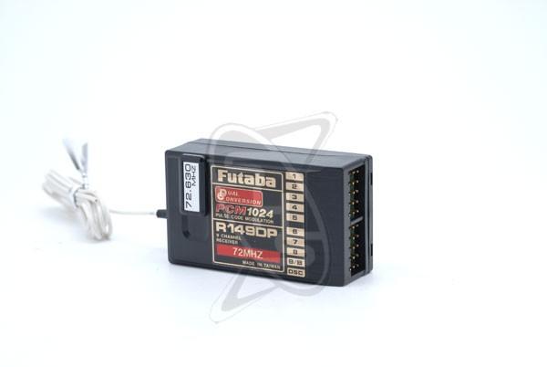 Futaba R149DP 9 Channel DC PCM Receiver 72Mhz/High