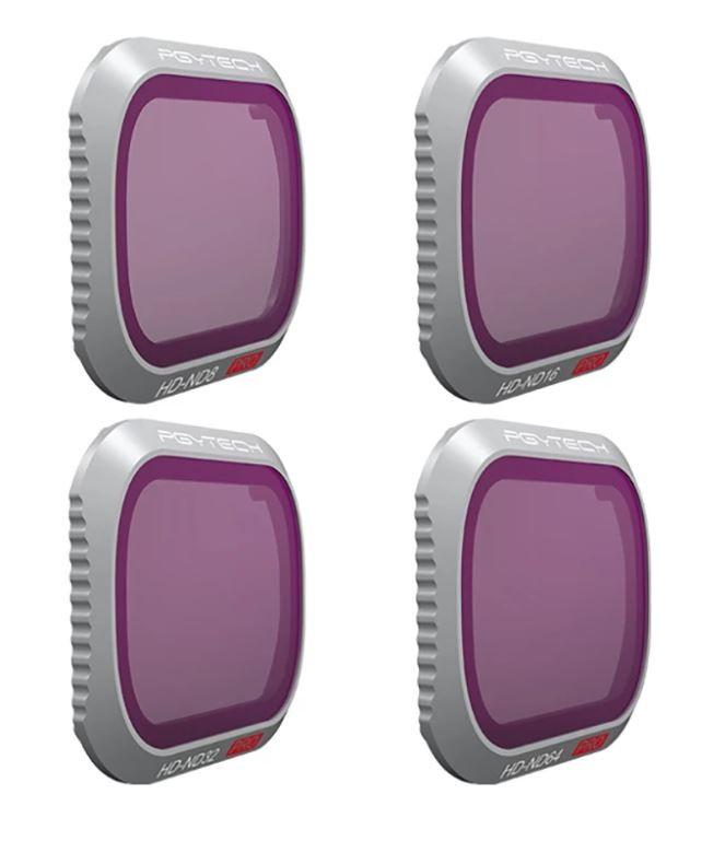 PGYTECH Filter for Mavic 2 Pro ND Set (ND8 ND16 ND32 ND64)