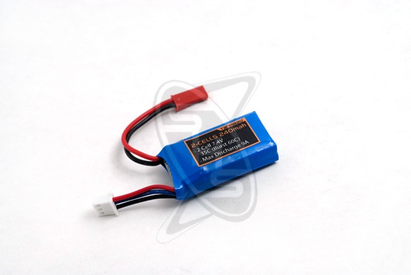 Tahmazo 2-cells 240mAh (35C) Lithium Polymer Battery