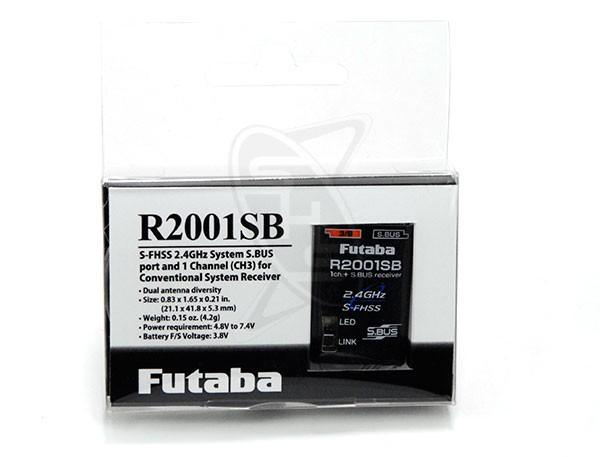 Futaba R2001SB S-FHSS Receiver (Drone)