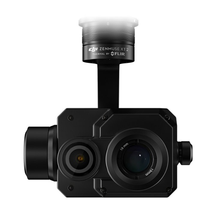 FLIR Zenmuse XT2 (336x256 FoV, 9mm Lens, 9Hz Frame Rate)