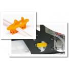 K&S 2293.1 On-board Fuel Stopper (Orange)