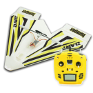 "SINGAHOBBY ARF RC ""Paper"" Plane with T8SG Lite (Mode 2) BUNDLE"