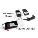 Futaba FT2F2100B LiFe Battery (6J/8J/4PK) & Charger