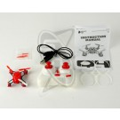 Hubsan Nano Quadcopter - Red (Mode2)