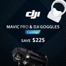 DJI Mavic Pro Fly More + Goggles Combo