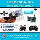 H36 Micro Quad Race Drone Combo