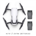 DJI Mavic Air with 2 Extra Batteries (Arctic White)