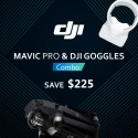 DJI Mavic Pro + Goggles Combo