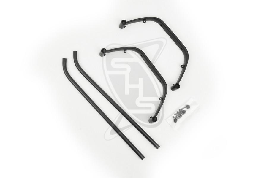 HIROBO 0402-533 Landing Gear Assy (Black)