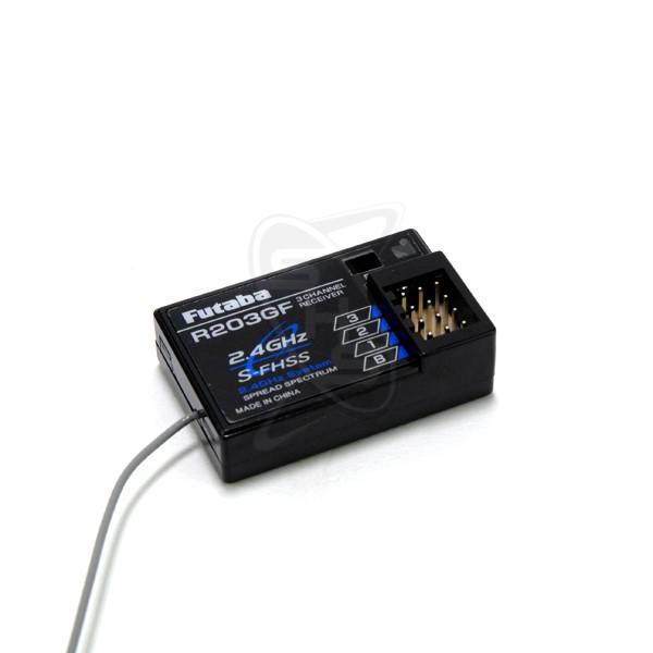 FUTABA R203GF 3-Channel S-FHSS Receiver