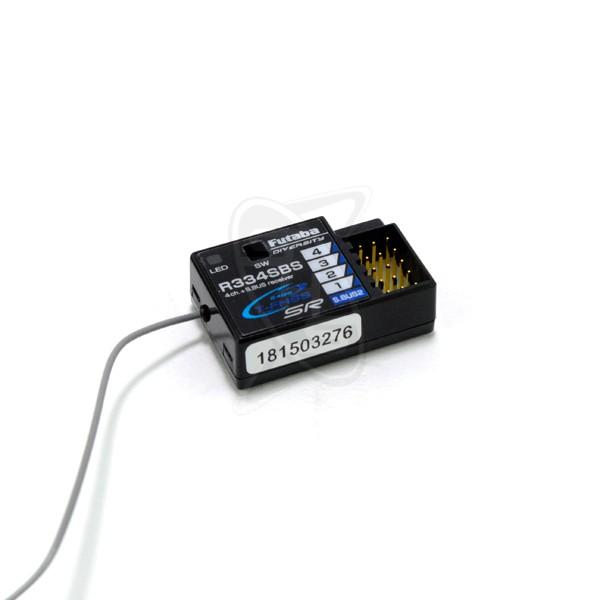 FUTABA R334SBS 4-Channel S.Bus2 T-FHSS SR HV Receiver