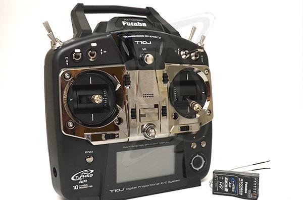 Futaba 10J FHSS 2.4GHZ RADIO W/R3008SB