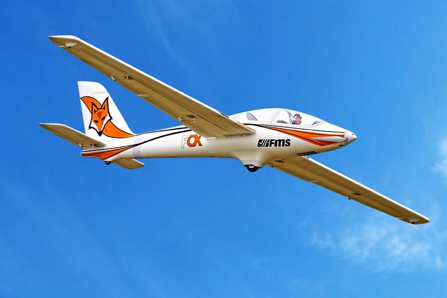 "FMS 3000mm (118"") Fox Glider PNP"