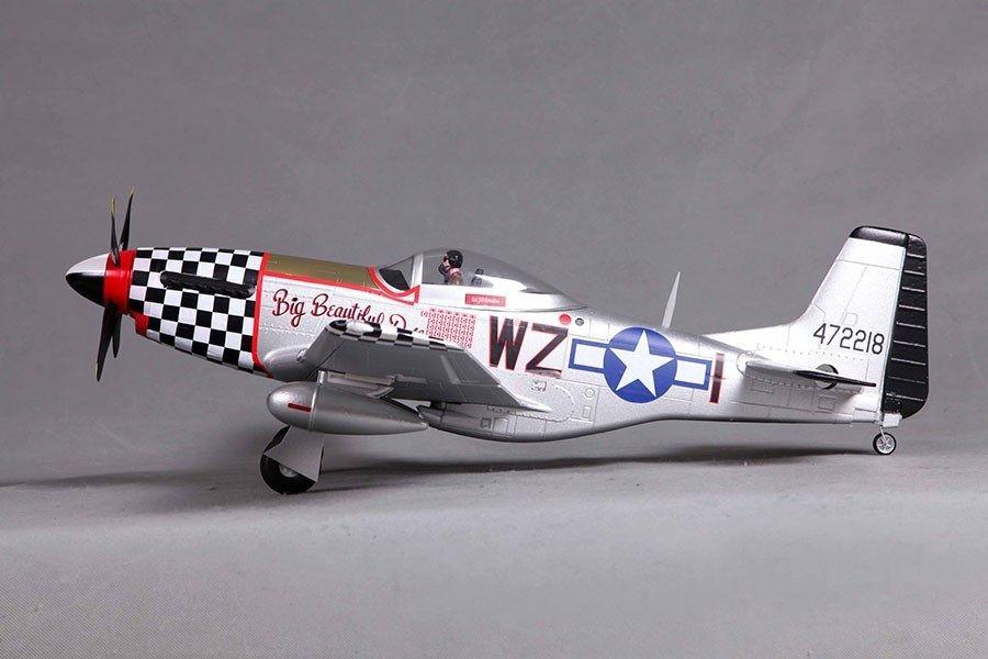 "FMS 800mm (31.5"") P-51D(V2) Big Beautiful Doll PNP"
