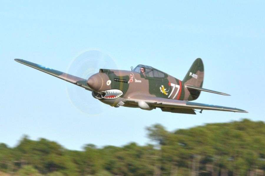 """FMS 1400mm (55.1"""") P-40B PNP"""